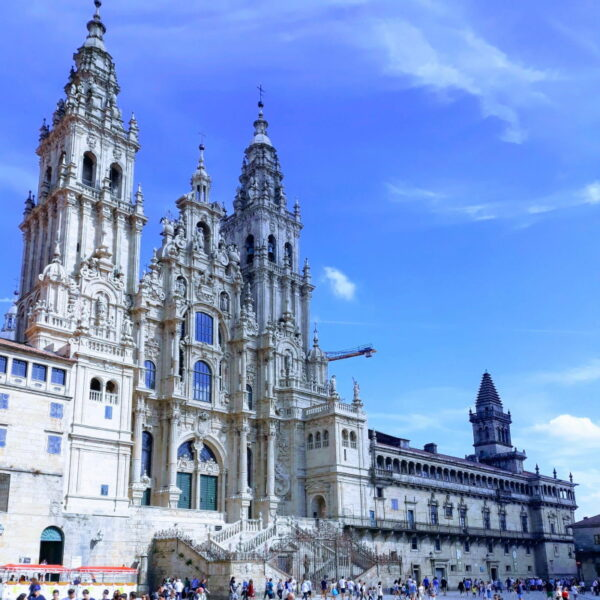 Transport of bicycles and cyclists from Santiago de Compostela