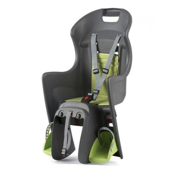 Alugue uma bicicleta com cadeira de criança até 22 quilos