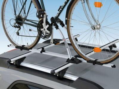 Saiba como alugar sistema de tranporte de bicicletas em tejadilho da viatura