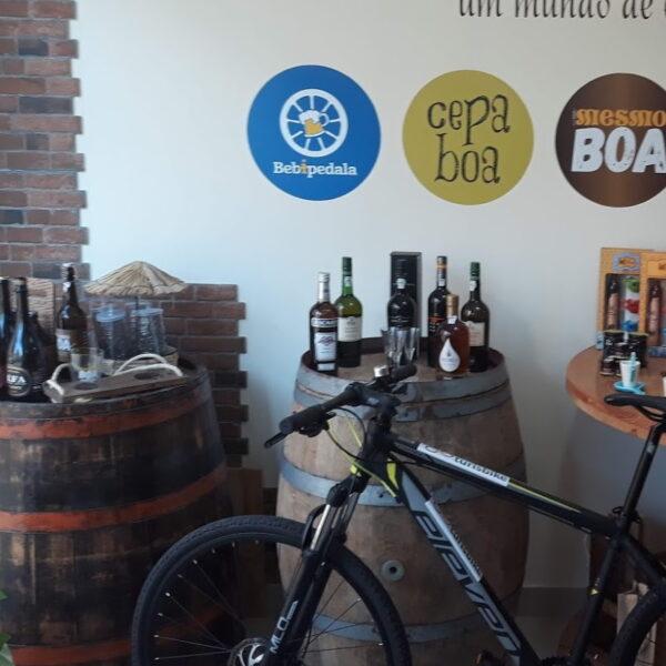 Aluguer de bicicletas no espaço artesanalis´s em Póvoa de Varzim