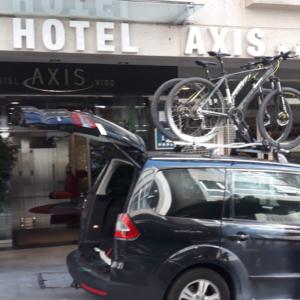 transportar bicicletas para entrega e recolha em hotel ou alojamento
