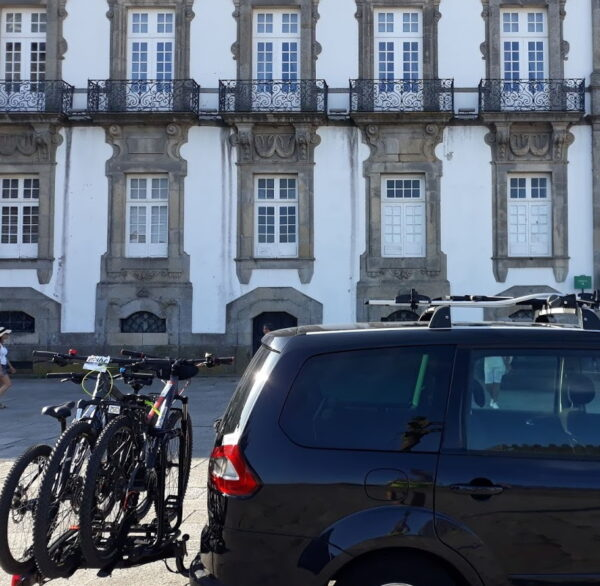 Bicycle rental in Porto Cathedral for the Way of Saint James