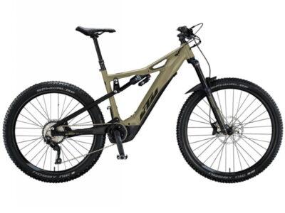 Vélo électrique KTM à suspension intégrale avec moteur Bosh