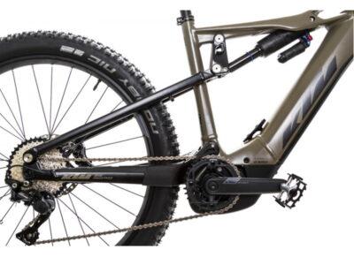 Alugar Bicicleta elétrica KTM de suspensão total e motor Bosh