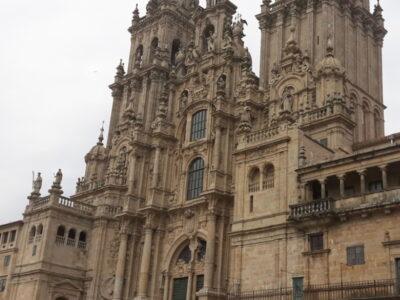 Catedral de Santiago de Compostela com aluguer de bicicletas